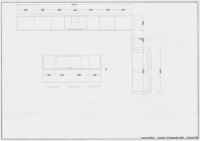 2D CAD Design Plans